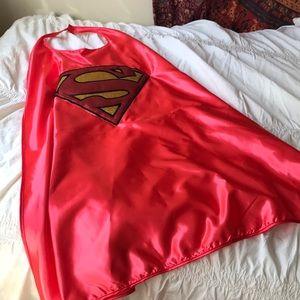 Glittery Superman Cape